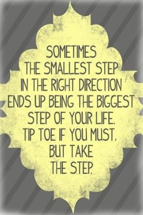 biggest step